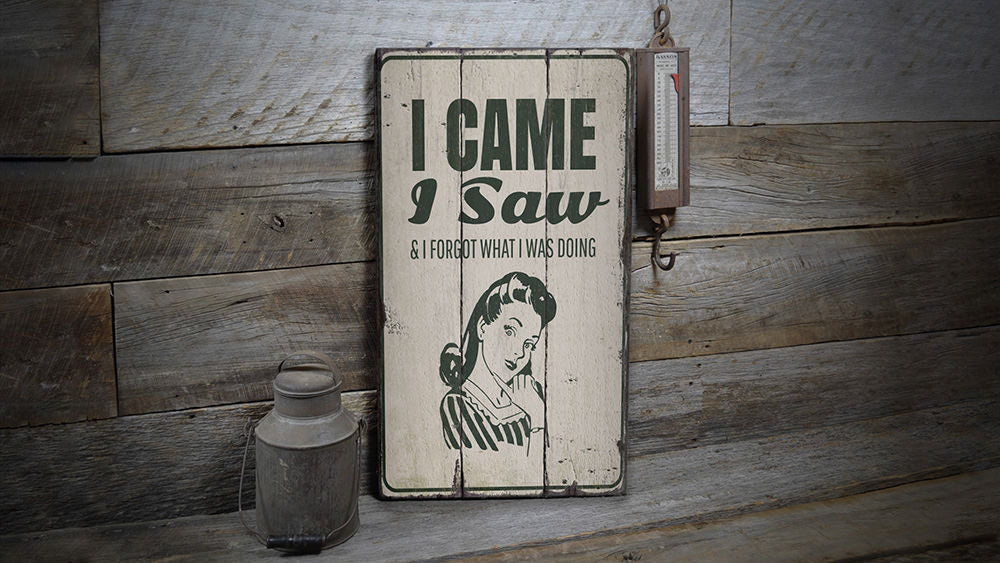 Funny People Rustic Wood Sign