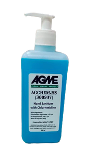 AGME IPA based Liquid HAND SANITIZER with skin care ingredients - 500 ML (Pack of 12)