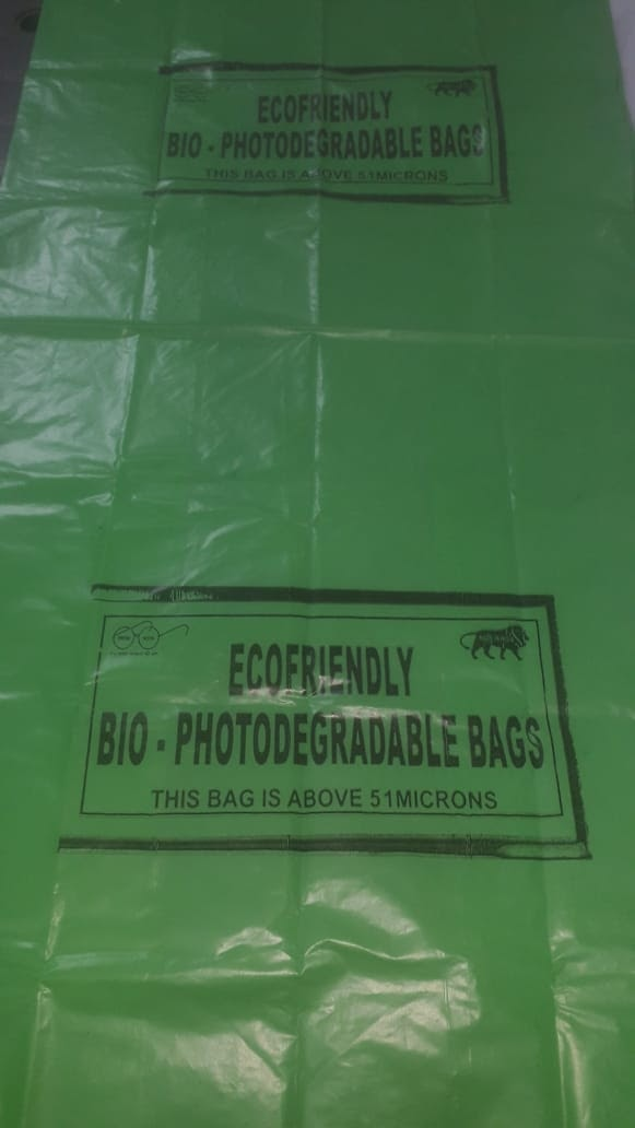 Ecofriendly Biodegradable Bags - RM Quality Coloured ( Pack of 10kg )