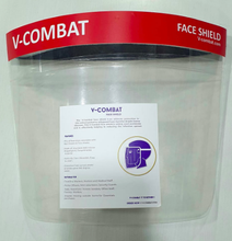 Load image into Gallery viewer, V-COMBAT FACE SHIELD ( Pack of 10 )