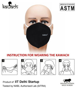 Kawach Masks Made in India ( Pack of 10)
