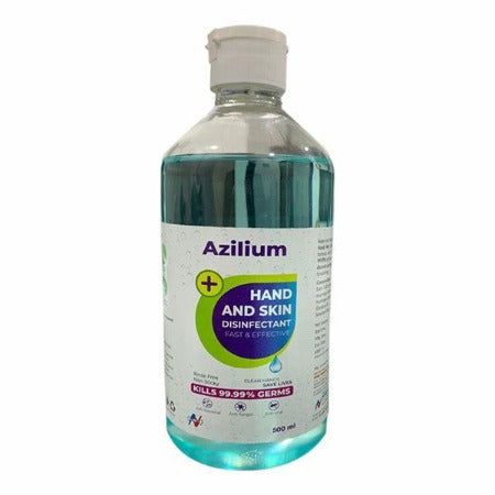 AZILIUM HAND AND SKIN SANITIZER 500 ML - ( Pack of 12 )
