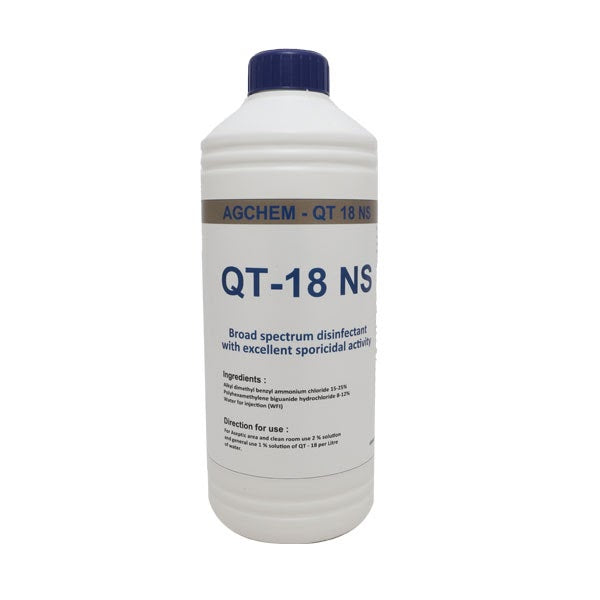 Disinfectant QT 18 NS - 1L ( Pack of 5 )