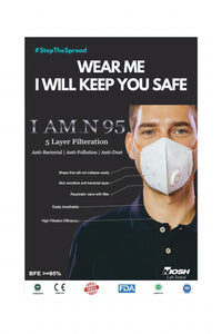 I AM N95 5 Layer Mask ( Pack of 2 )