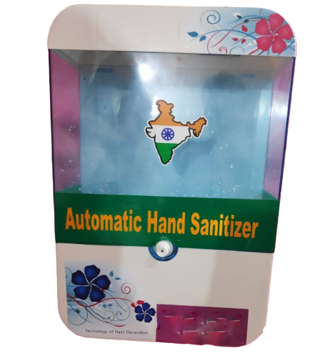 Automatic sanitizer dispenser cum hand sanitizer machine + 20 litres sanitizer ( Combo Pack )