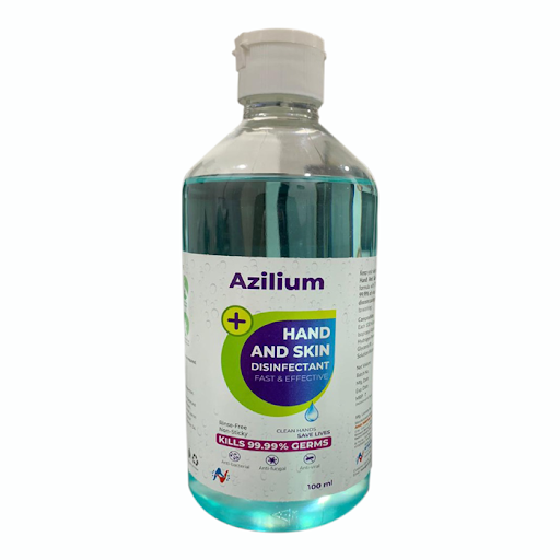 AZILIUM HAND AND SKIN SANITIZER 100 ML - ( Pack of 12 )