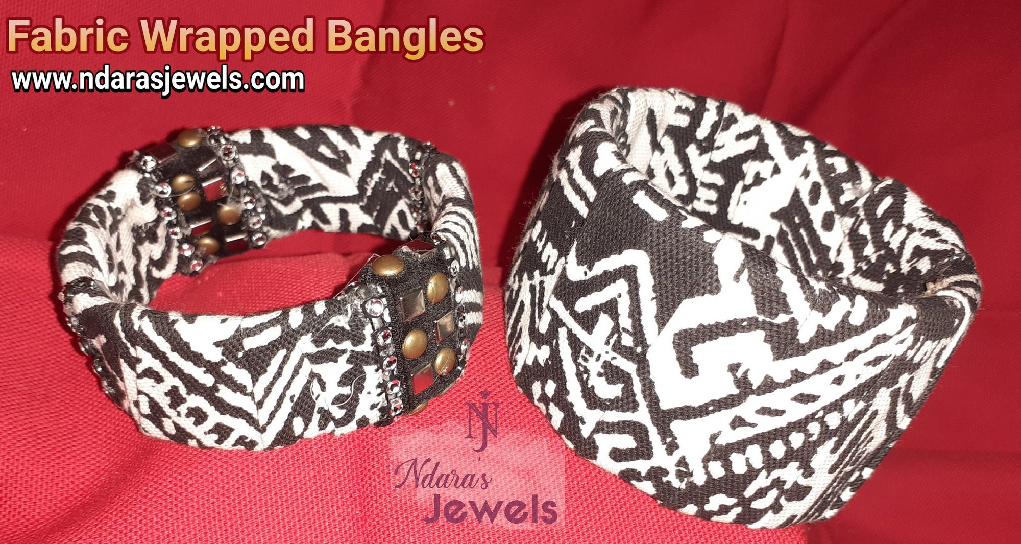 Fortitude Collection - Fabric Wrapped Bangles
