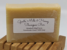 Load image into Gallery viewer, Goats' Milk & Honey SHAMPOO BAR