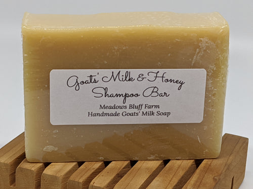 Goats' Milk & Honey SHAMPOO BAR