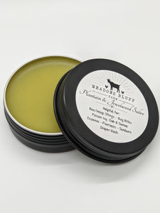 Plantain and Jewelweed Salve