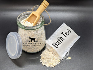 Soothing Goats' Milk Bath Tea