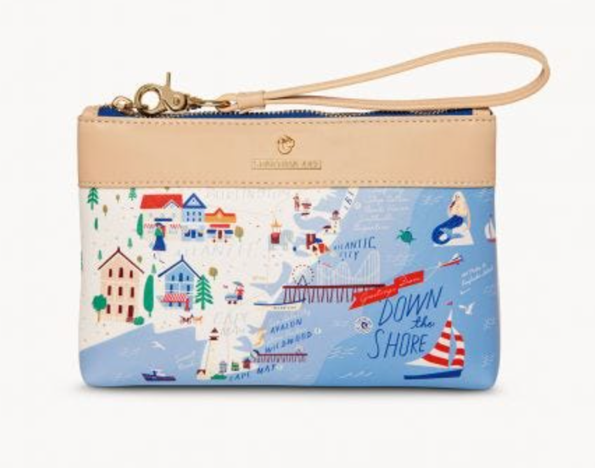Spartina 449 Down the Shore Scout Wristlet