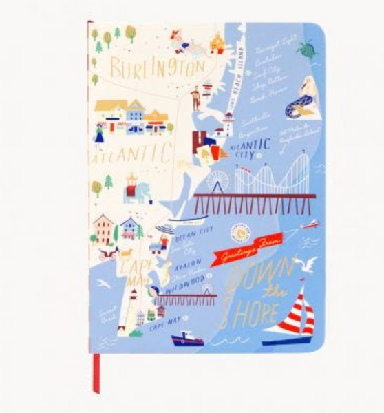 Spartina 449 Ruled Notebook Down the Shore
