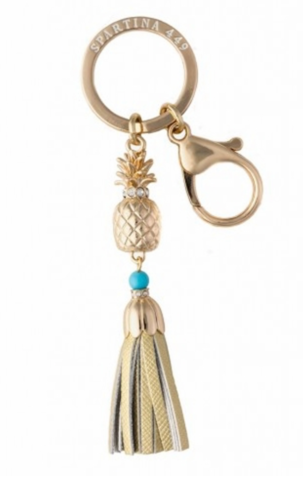 Spartina 449 Icon Keychain Pineapple