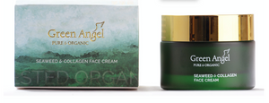 Green Angel Seaweed & Apricot Facial Scrub