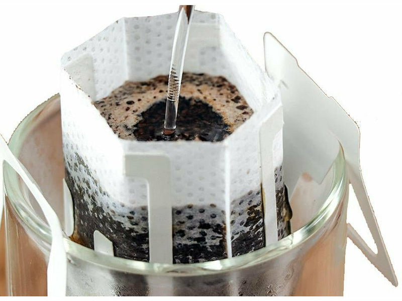 Brewing 50pcs Hanging Ear Drip Coffee Filter