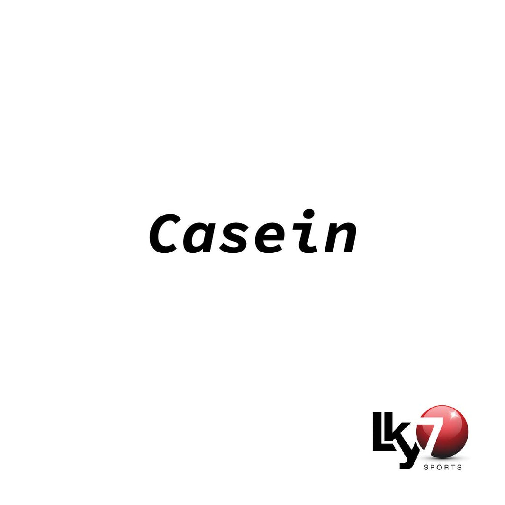 Casein - a night time muscle building protein source.