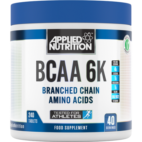 Applied Nutrition BCAA 6K - 240 Tablets
