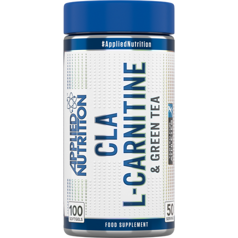 Applied Nutrition CLA, L-Carnitine & Green Tea - 100 Soft Gels