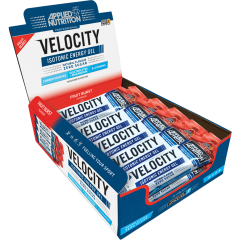 Applied Nutrition Velocity Isotonic Energy Gel Box 20 x 60g