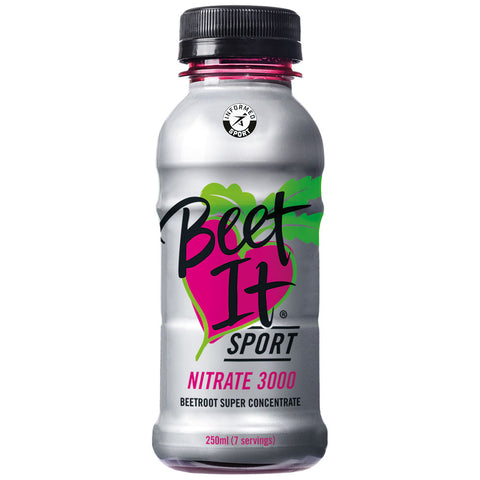 Beet It Sport Nitrate 3000 Concentrate - 6 x 250ml Bottles