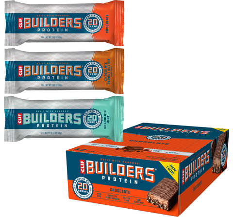 Clif Builder's Bar - 12 x 68g Bars