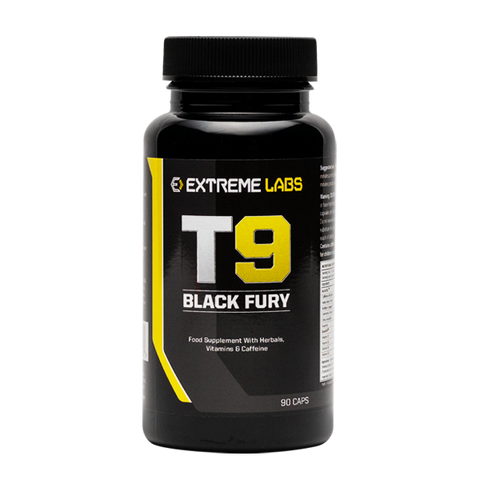 Extreme Labs T9 Black Fury - 90 Capsules