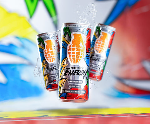 Grenade Energy Functional Energy Drink - 12 x 330ml Cans