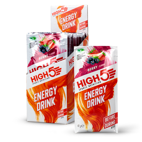 High5 Energy Drink - 12 x 47g Sachets