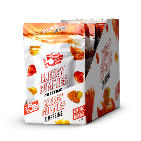 High5 Energy Gummies Caffeine - 10 x 26g Packets