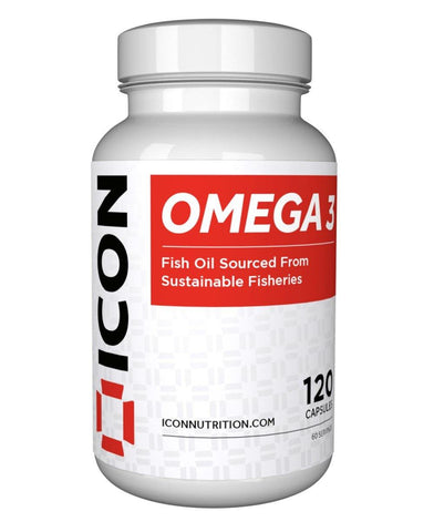 ICON Nutrition Omega 3 - 120 Soft Gels