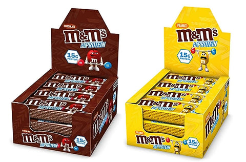 M&M's Hi Protein Bar - 12 x 51g Bars