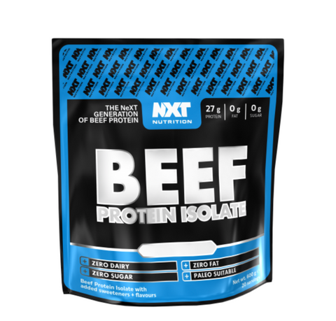NXT Nutrition Beef Protein Isolate - 600g (20 Servings)
