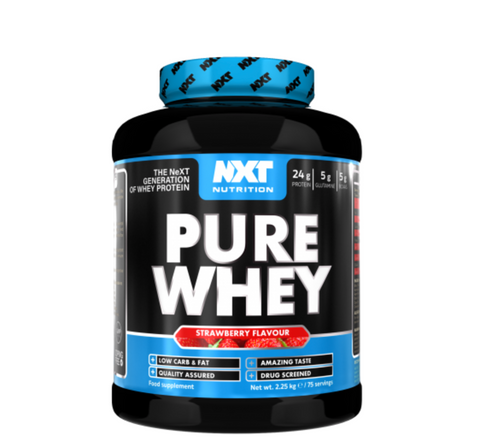 NXT Nutrition Pure Whey - 2.25Kg (75 Servings)