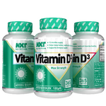 NXT Nutrition Vitamin D3 4000IU - 365 Tablets