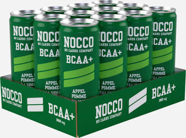 NOCCO BCAA+ - 12 x 330ml Cans