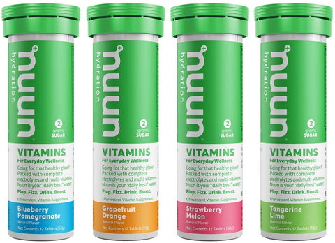 Nuun Vitamins - 8 x 12 Tablets