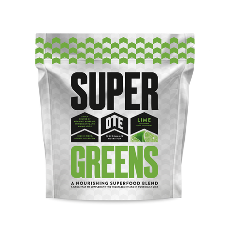 OTE Sports Super Greens Lime Flavour - 360g