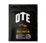 OTE Sports Whey & Casein Powdered Protein Recovery Drink Chocolate - 1Kg Bulk Pack