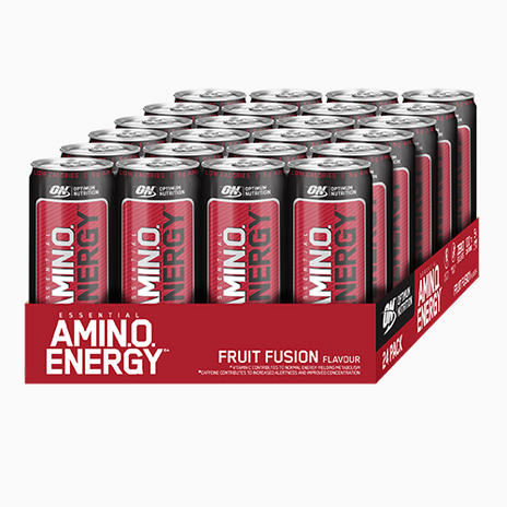 Optimum Nutrition Amino Energy RTD - 24 x 330ml Cans