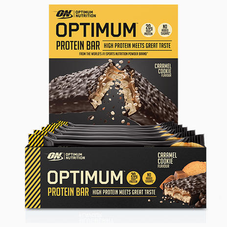 Optimum Nutrition Optimum Protein Bar - 10 x 60g Bars