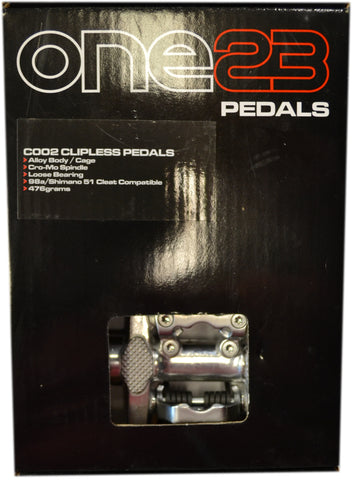 One23 COO2 Clipless Pedals