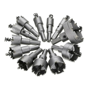 Hole Saw Cutter Drill Bit Set (12Pcs Set)