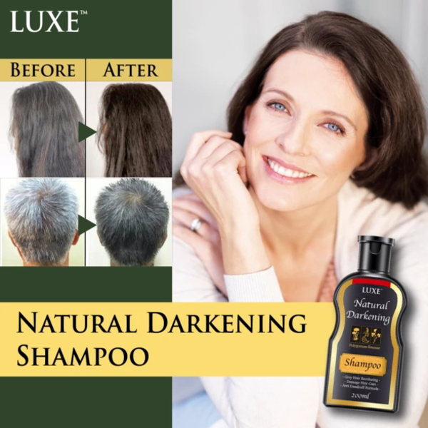LUXE™ Natural Darkening Shampoo
