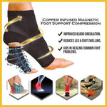 Copper Infused Magnetic Compression Socks
