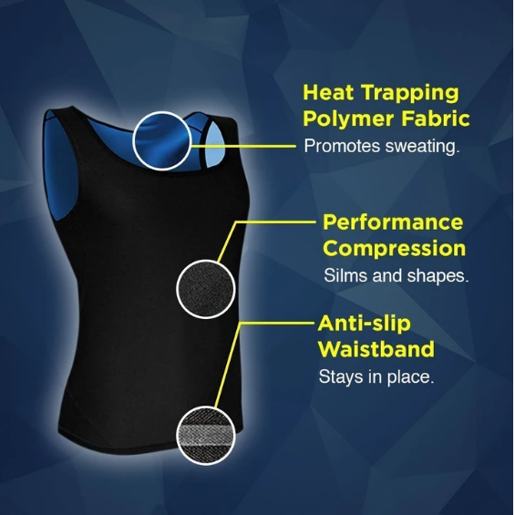 Sweat Shaper-Sauna Vest