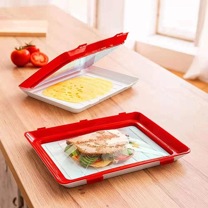 Stackable Food Preservation Tray