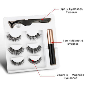 THUNDA Magnetic Eyeliner-Lashes Set