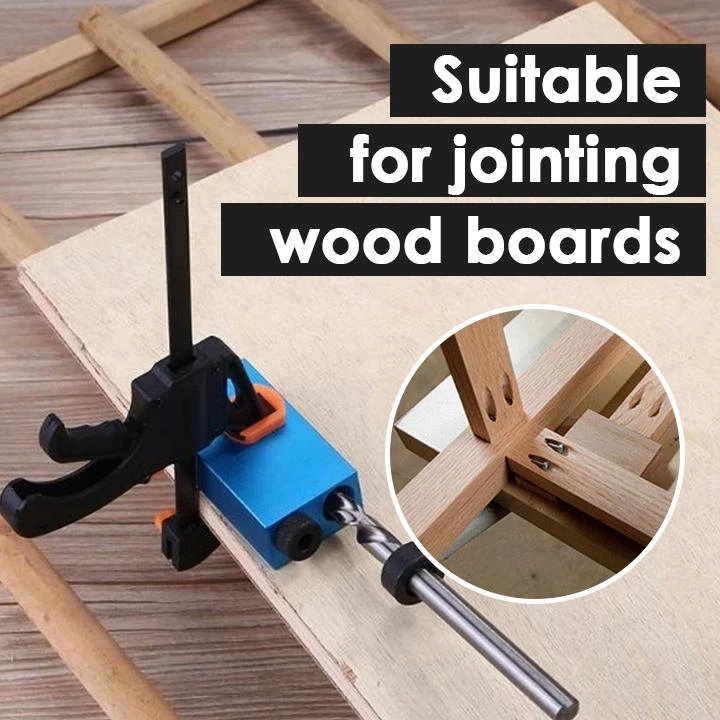 Woodworking Inclined Hole Jig