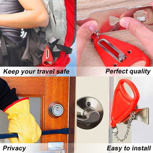 Ultimate Security Lock - Travel Lock, AirBNB Lock, School Lockdown Lock
